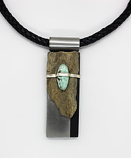 Art Necklace 180 by Shirley Wagner (Mixed-Media Necklaces)