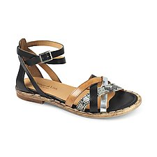 Como Sandal by La Bottega di Lisa  (Leather Sandal)