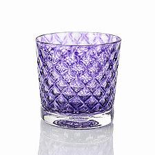 Mindala Drinking Glass by 2BGlass (Art Glass Drinkware)