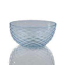 Diamond Cut Bowls by 2BGlass (Art Glass Bowl)