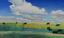 Open Skies by Tom Maakestad (Oil Painting)