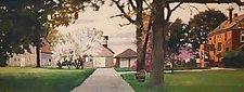 Legacy Farmstead by Tom Maakestad (Oil Pastel Painting)