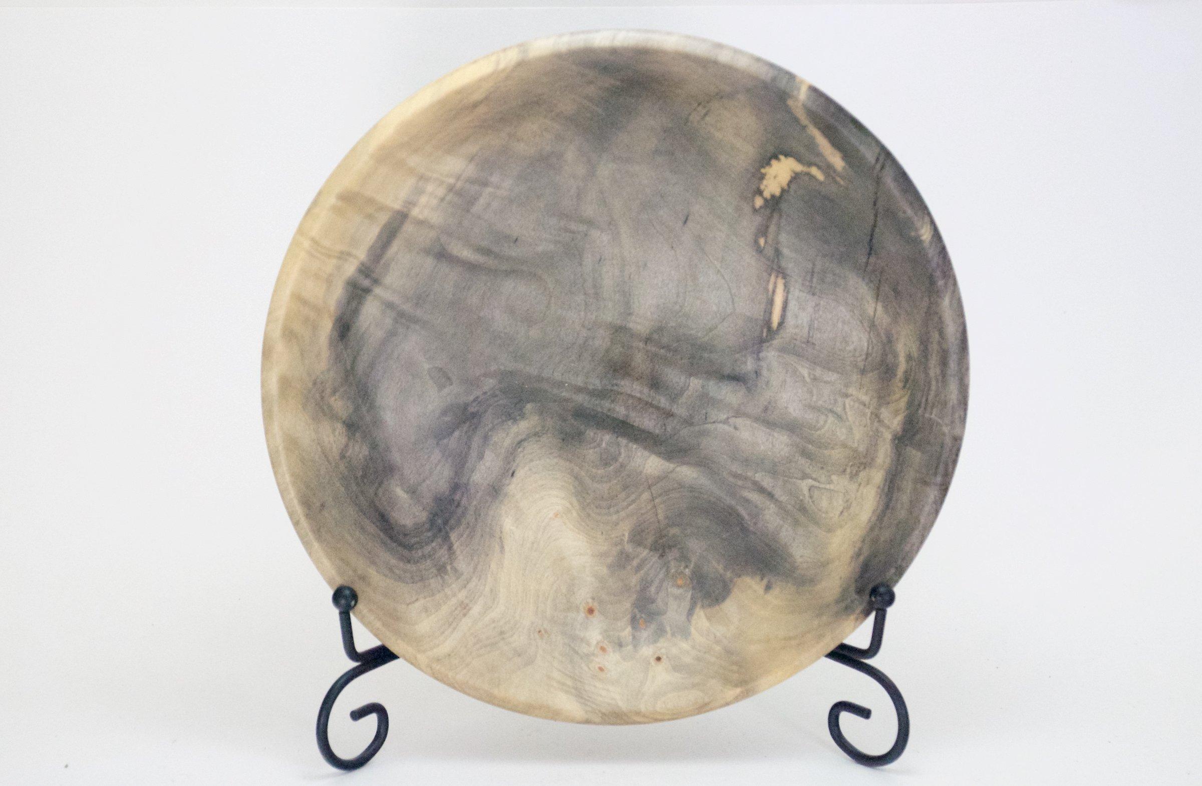 Buckey Burl Bowl Wood Turned
