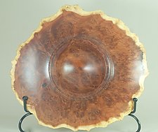Sculptural Form of Red Mallee Burl by Eric Reeves (Wood Sculpture)