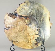 Sculptural Form of Buckeye Burl by Eric Reeves (Wood Sculpture)