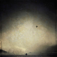 Kite by Gloria Feinstein (Color Photograph on Aluminum)