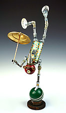 Acrobotics Series by Amy Flynn (Mixed-Media Sculpture)