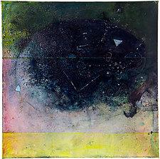 St. Croix 7 - Slate by Virginia Bradley (Oil Painting)