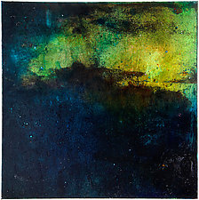 St. Croix 3 - Island by Virginia Bradley (Oil Painting)