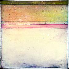 St. Croix 9 - Beach by Virginia Bradley (Oil Painting)
