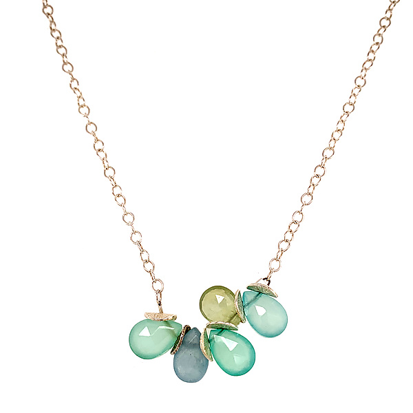 Signature Mini Multi-Gem Necklace