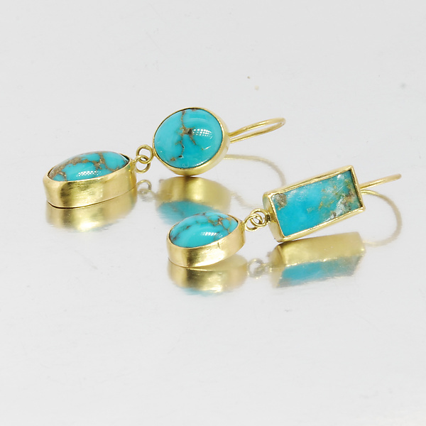 Persian Turquoise Earrings