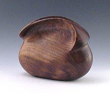 Christine Clutch by Kimberly Chalos (Wood Purse)