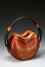 Courtney Purse by Kimberly Chalos (Wood Purse)