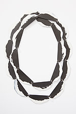 Edge Chain Necklace by Eliana Arenas (Steel Necklace)