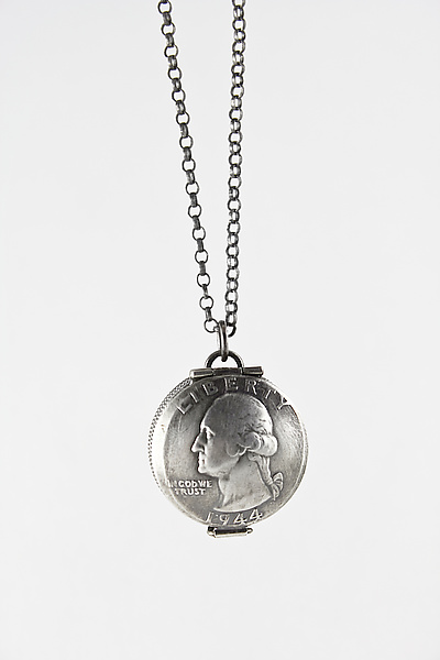 George Washington Quarter Locket