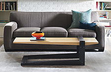 Fulcrum Coffee Table by B.R. Delaney (Wood Coffee Table)