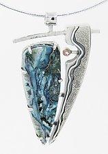 Havasu Pendant by Lesley Aine McKeown (Silver & Stone Necklace)