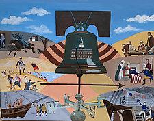 Liberty Bell by Warren Godfrey (Acrylic Painting)