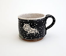 Astronaut Dog Short Mug by Ian Buchbinder (Ceramic Mug)