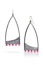Camelot Earrings by Tammy B (Silver & Stone Earrings)