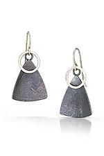 Paddle Earrings by Tammy B (Silver Earrings)