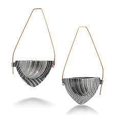 Bateaux Hoop by Sarah Chapman (Silver Earrings)
