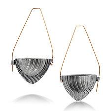 Bateaux Hoop by Sarah Chapman (Silver Earrings)