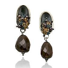 Seedling Cluster Post Earrings by Sarah Chapman (Silver & Stone Earrings)