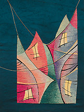 Talk to Me by Rita Gekht (Fiber Wall Hanging)
