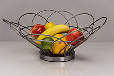 Zuzu Basket by Ken Girardini and Julie Girardini (Metal Basket)