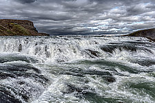 Gulfoss I by Barry Guthertz (Color Photograph)