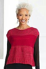 Stitch Transparent Sweater by Kaoru Izushi (Knit Sweater)