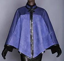 Iris Blue Cape by Toshiki & Maryszka (Shearing Cape)