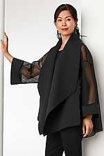 Neoprene and Mesh Swing Jacket by Susan Bradley (Neoprene Jacket)