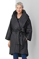 Quilted Hooded Car Coat by Susan Bradley (Quilted Jacket)