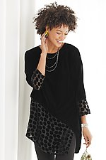 Raya Tunic by Lisa Bayne  (Velvet Tunic)