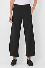 Pebble Crepe Wide Leg Pant by Lisa Bayne  (Knit Pant)