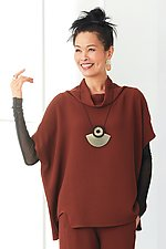 Pebble Mesa Top by Lisa Bayne  (Knit Top)