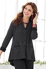 Windswept Cardi by Lisa Bayne  (Knit Cardigan)