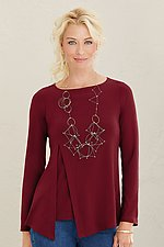 Lotus Top by Lisa Bayne  (Knit Top)
