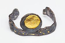 Sun Cuff Bracelet by Emily Wiser (Gold & Silver Bracelet)