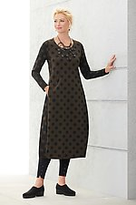 Lottie Dot Travel Dress by Alembika (Knit Dress)