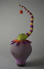 Balance by Ellen Silberlicht (Ceramic & Fiber Sculpture)