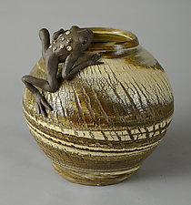 Looking Things Over by Ellen Silberlicht (Ceramic Vessel)