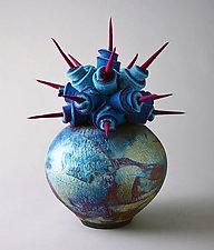 Global View by Ellen Silberlicht (Mixed-Media Sculpture)
