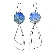 Taos Teardrop Earrings by Kyla Katz (Silver Earrings)
