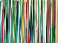 Glue by Niki Stearman  (Mixed-Media Painting)