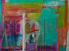 I Wish I Could by Niki Stearman  (Mixed-Media Painting)