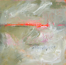 Everyone Else Is Shouting by Linda O'Neill (Mixed-Media Painting)